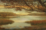 Landscape Lake Print by Mark Chandon
