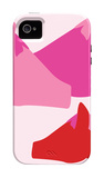 Pink Horses iPhone 4/4S Case by  Avalisa