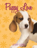 Puppy Love - 2013 Notebook Academic Planner Calendars