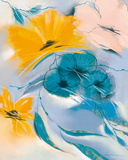 Saffron II Print by Marilyn Robertson