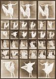 Danseurs Affiches par Eadweard Muybridge