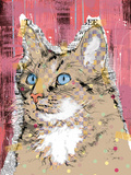 Poppet Cat IV Print by Ken Hurd