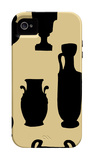 Urns in Silhouette II iPhone 4/4S Case by  Vision Studio
