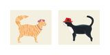 Jazz Cats Prints by Kate Mawdsley