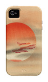 Red Sun iPhone 4/4S Case