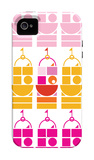Orange Pink Castle iPhone 4/4S Case by  Avalisa