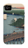 Great Bridge at Senju iPhone 4/4S Case by Ando Hiroshige