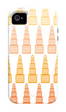 Orange Skyline iPhone 4/4S Case by  Avalisa