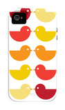 Orange Kiss iPhone 4/4S Case by  Avalisa