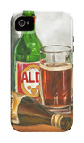 Beer Series I iPhone 4/4S Case by Jennifer Goldberger