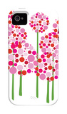 Pink Allium iPhone 4/4S Case por Avalisa