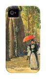 Fifth Avenue and Washington Square iPhone 4/4S Case by Frederick Childe Hassam