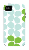 Green Flowers iPhone 4/4S Case by  Avalisa