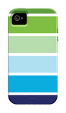 Cool Stripes iPhone 4/4S Case by Avalisa