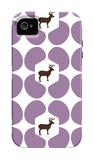 Purple Deer Hoof iPhone 4/4S Case by  Avalisa