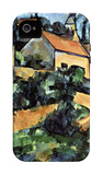 Road Curve in Montgeroult iPhone 4/4S Case by Paul Cézanne