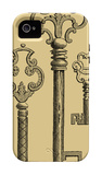 Antique Keys II iPhone 4/4S Case por Vision Studio