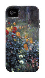 Garden in the Street Cortot, Montmartre iPhone 4/4S Case by Pierre-Auguste Renoir