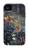 Garden in the Street Cortot, Montmartre iPhone 4/4S Case by Pierre-Auguste Renoir