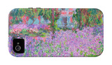 Artists Garden iPhone 4/4S Case by Claude Monet