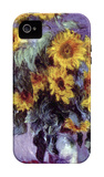 Still Life with Sunflowers iPhone 4/4S Case by Claude Monet