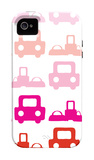 Pink Roadtrip iPhone 4/4S Case by  Avalisa