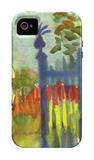 Garden Gate iPhone 4/4S Case by Auguste Macke