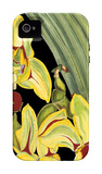 Tropical Plant on Black I iPhone 4/4S Case