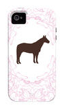 Pink Stallion iPhone 4/4S Case by  Avalisa