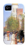 One Spring Morning iPhone 4/4S Case by Childe Hassam