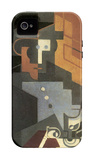 Men from the Tourraine iPhone 4/4S Case by Juan Gris
