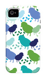Cool Chick Pattern iPhone 4/4S Case by  Avalisa