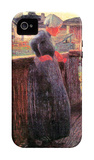 On the Balcony iPhone 4/4S Case by Giovanni Segantini