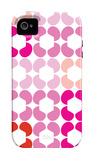 Pink Quilt iPhone 4/4S Case by  Avalisa