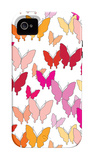 Warm Butterfly Pattern iPhone 4/4S Case by  Avalisa