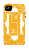 Orange Paint Collection iPhone 4/4S Case by  Avalisa