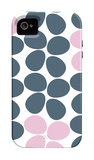 Blue Flowers iPhone 4/4S Case by  Avalisa