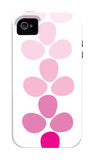 Pink Footprints iPhone 4/4S Case by  Avalisa