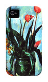 The Vase of Tulips, c.1890 iPhone 4/4S Case by Paul Cézanne