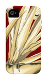 Red Background Tropical V iPhone 4/4S Case