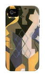 Harlequin with Table iPhone 4/4S Case by Juan Gris