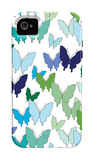 Cool Butterfly Pattern iPhone 4/4S Case by  Avalisa