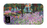 Monet's Garden in Giverny iPhone 4/4S Case by Claude Monet