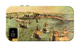 Port of Naples iPhone 4/4S Case by Pieter Bruegel