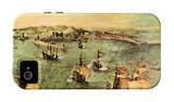 Port of Naples iPhone 4/4S Case by Pieter Bruegel the Elder