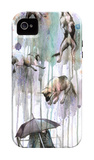 Rain Dogs iPhone 4/4S Case by Lora Zombie