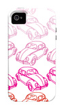 Pink Bug iPhone 4/4S Case by  Avalisa