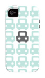Seagreen Parking Lot iPhone 4/4S Case by  Avalisa