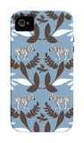 Blue Zebra Wilderness iPhone 4/4S Case by  Avalisa