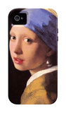 The Girl with the Pearl Earring iPhone 4/4S Case by Jan Vermeer